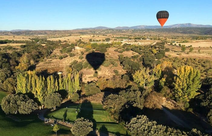 Balloon Flight in Madrid
