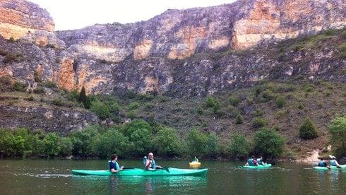kayaking in Madrid. Kayaking in Segovia. Outdoor Adventures in Madrid.