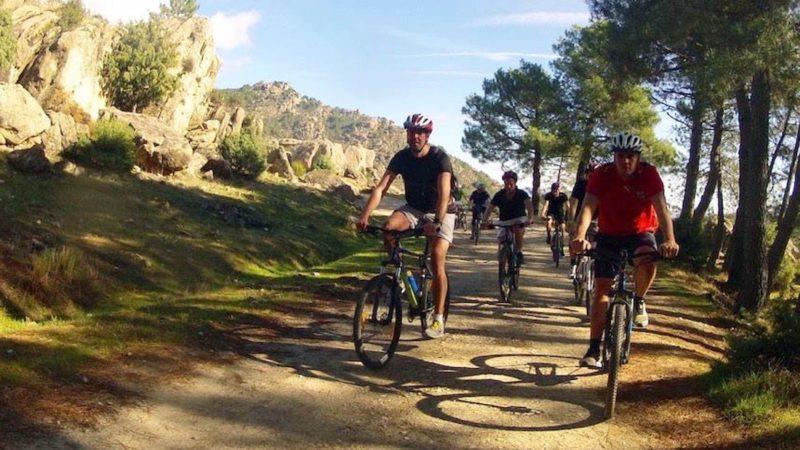 Mountain Biking in Madrid. MTB Tours in Madrid. MTB rides.