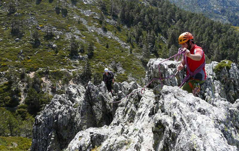 Scrambling Escalada en Madrid con Dreampeaks.
