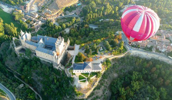 Vuelo en Globo en Segovia con Dreampeaks