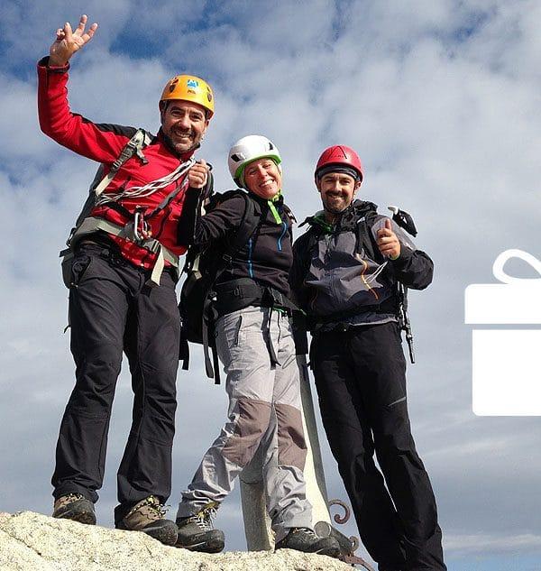 Curso de Montaña y Escalada en Madrid con Dreampeaks. Curso de Alpinismo en Madrid.