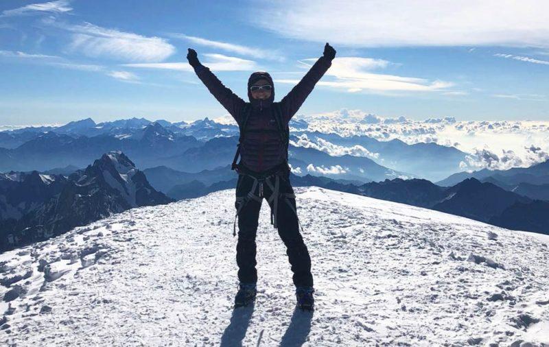 Ascensión Mont Blanc en Alpes con Dreampeaks