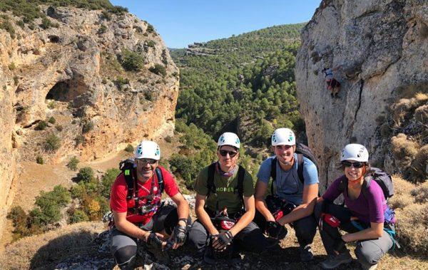 Via Ferrata Ventano del Diablo en Cuenca con Dreampeaks